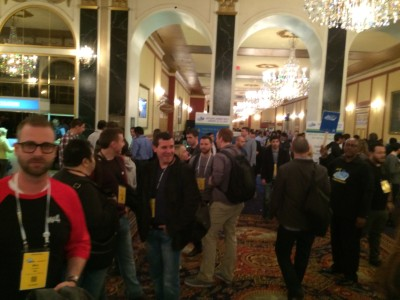 The jam packed crowd at Affiliate Summit.